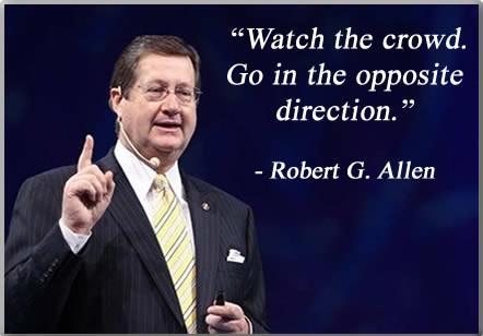 Robert G. Allen vsako leto predava na več kot 100 seminarjih skupaj z ljudmi, kot so Richard Branson (Virgin), Oprah Winfrey, Tony Robbins in drugi.