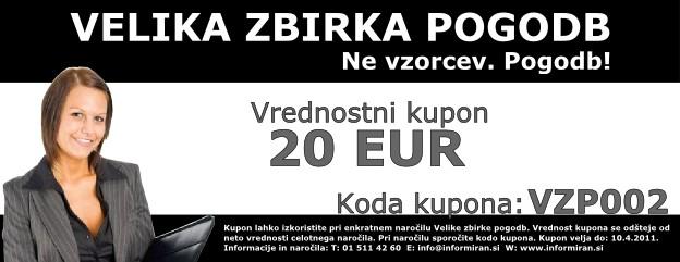 Kupon - 20 EUR