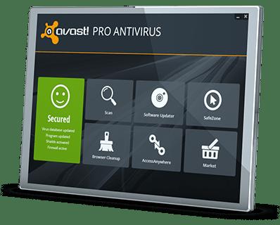 avast! Pro Antivirus 8 - najmanj 10% popust
