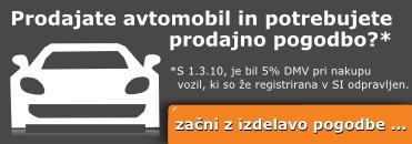 e-obrazec za izdelavo prodajne (kupoprodajne) pogodbe za motorno vozilo