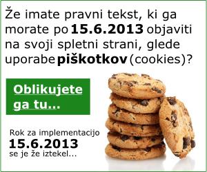 Piškotki (cookies) po 15.6.2013