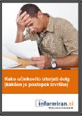 Brezplačni priročnik: Kako učinkovito izterjati dolg