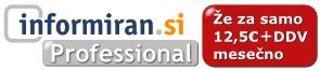 Informiran.si Profesional - Že od 12,5€ mesečno!