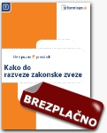Brezplani prironik: Kako do razveze zakonske zveze