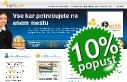 Spletna stran - 10% popust