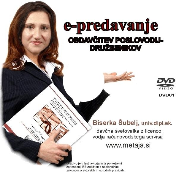 DVD - Obdavčitev direktorjev po novem