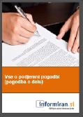 Brezplačni priročnik: Vse o podjemni pogodbi (pogodbi o delu)