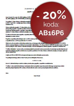 Poziv delavca delodajalcu za izstavitev pogodbe o zaposlitvi za nedoločen čas