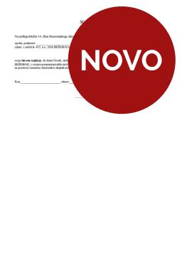 Soglasje etažnega lastnika (soseda) za opravljanje dejavnosti v večstanovanjski stavbi