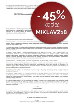 Pravilnik o zavarovanju osebnih podatkov po GDPR